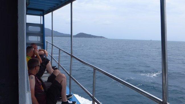 Корабль на Панган из Самуи