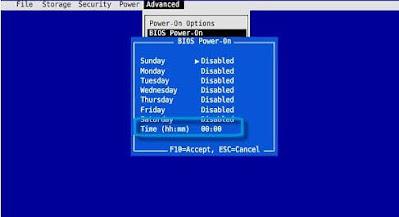 BIOS Power-On HP Setup Utility - ITSTAFF.web.id