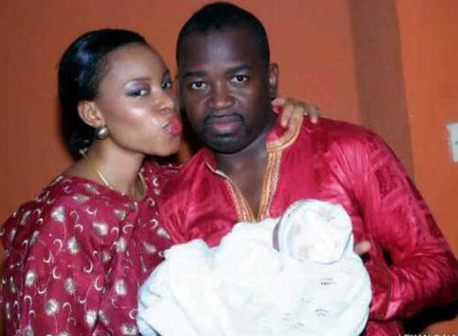 kayode peters wife gives birth