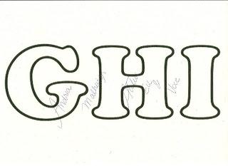 Moldes De Letras Do Alfabeto Em Eva Para Imprimir Como Fazer