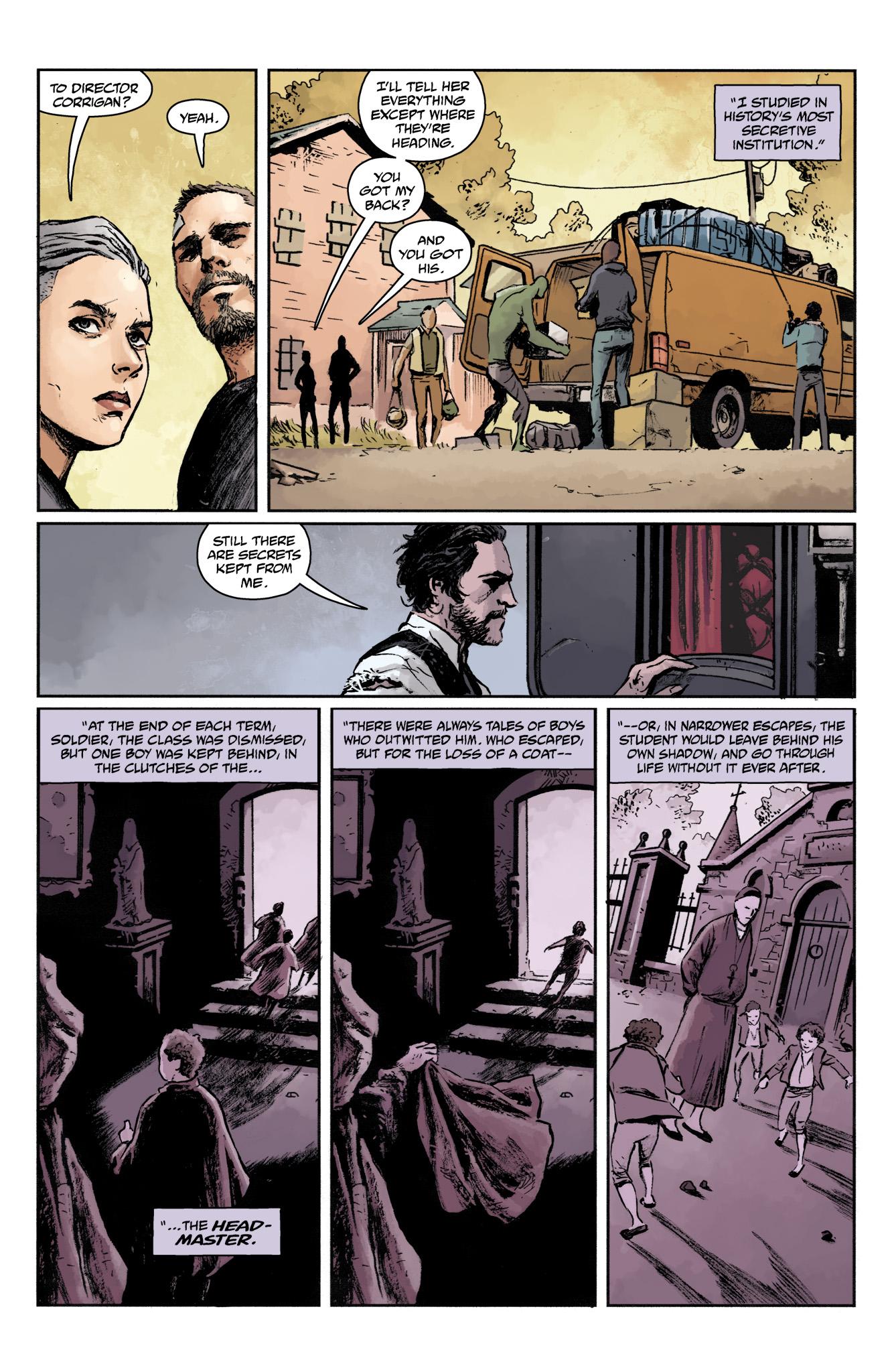 Read online Abe Sapien comic -  Issue #17 - 23