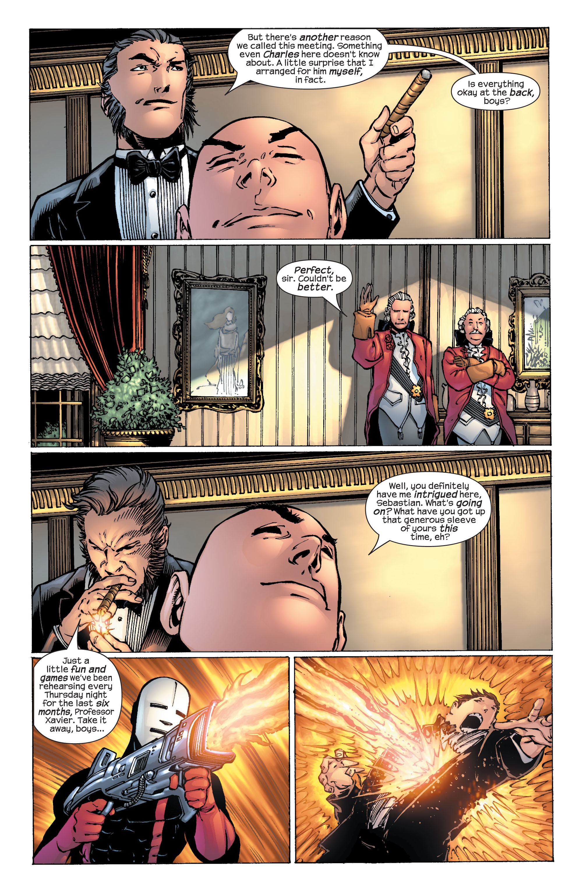 Read online Ultimate X-Men comic -  Issue #25 - 12