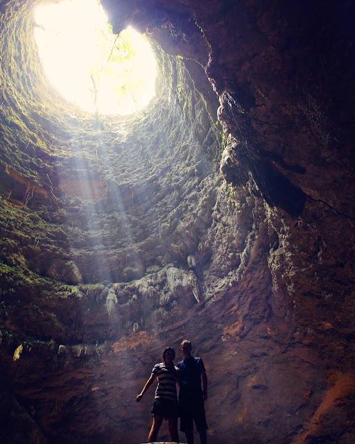 foto prewedding di goa jomblang gunung kidul