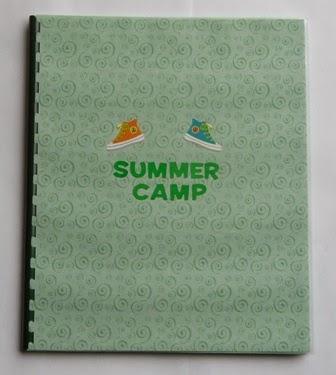 Summer camp blank journal
