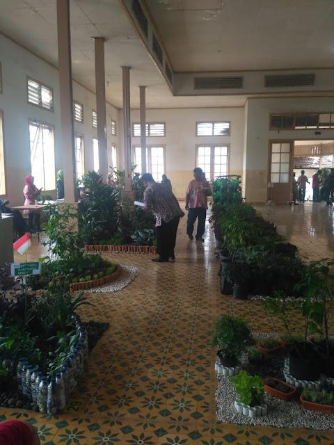 penilaian lomba taman mini sayur di kota Jogja