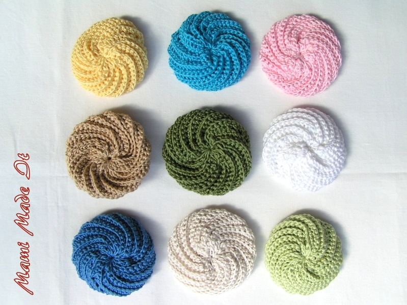 Mami Made It: Face Scrubbies colored - Bunte Abschminkpads