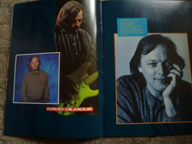 Acidica S Site Pink Floyd Tour Program 1987
