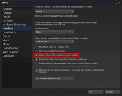 cara mengubah Steam ID-1