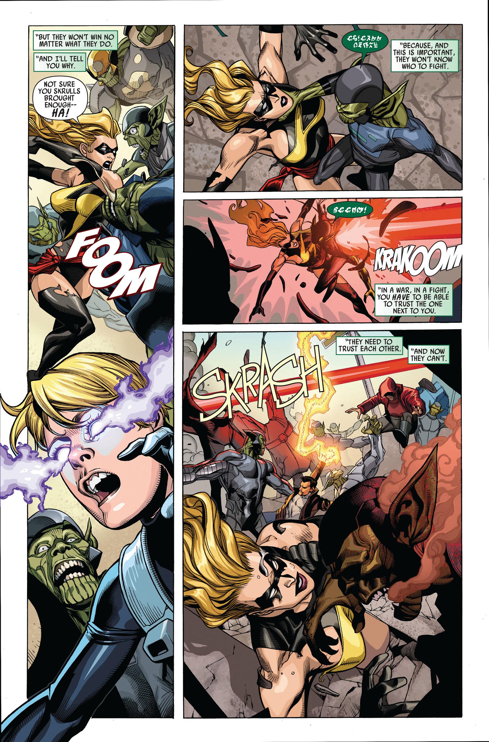 Read online Secret Invasion comic -  Issue #4 - 8