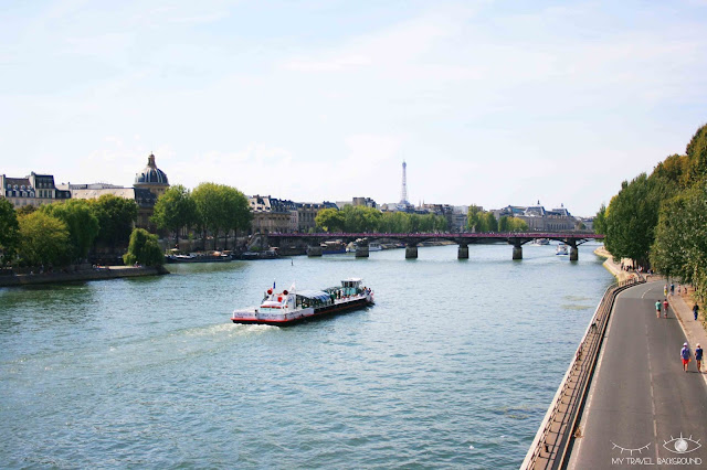 My Travel Background : #ParisPromenade : l'île de la Cité, vue depuis le Pont Neuf
