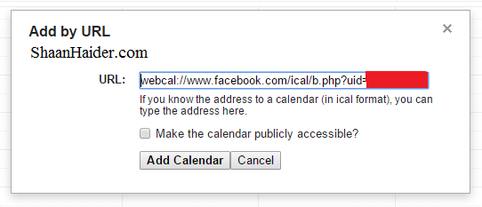 HOW TO : Sync Facebook Birthdays with Google Calendar to Get Birthday Reminders
