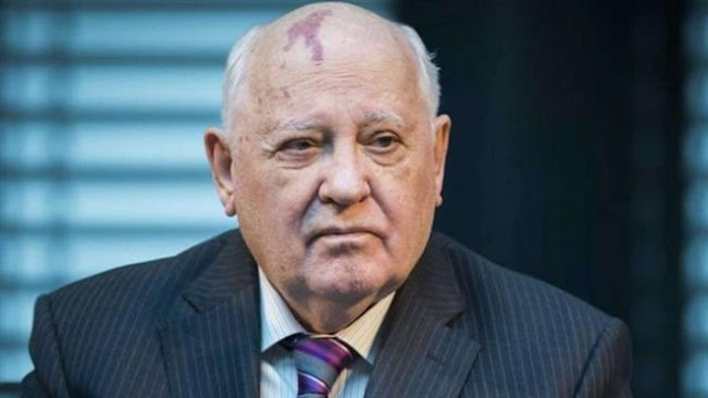 Tensions between Russia and the United States reach dangerous threshold : Former Soviet Union President Mikhail Gorbachev