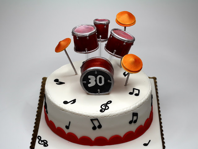 Birthday Cake for Drummer , London