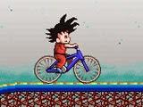 لعبة جوجو و قيادة الدراجة Goku Roller Coaster