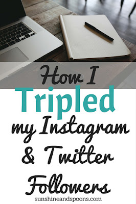 How I Tripled my Instagram and Twitter Followers