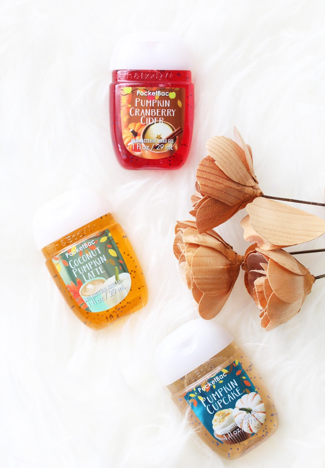 bath and body works autumn pocketbac sanitizers