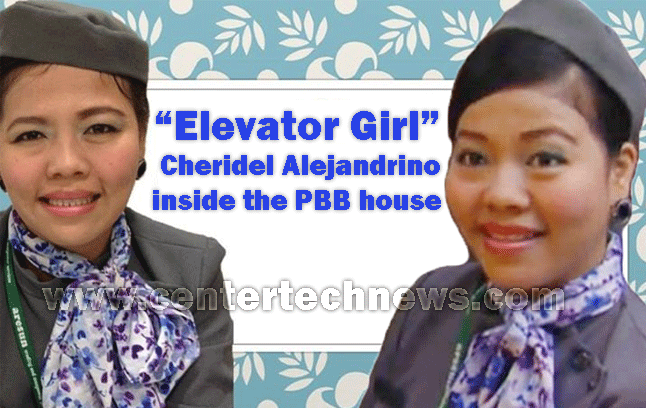 Elevator Girl named Cheridel Alejandrino Now a Housemate on PBB All In