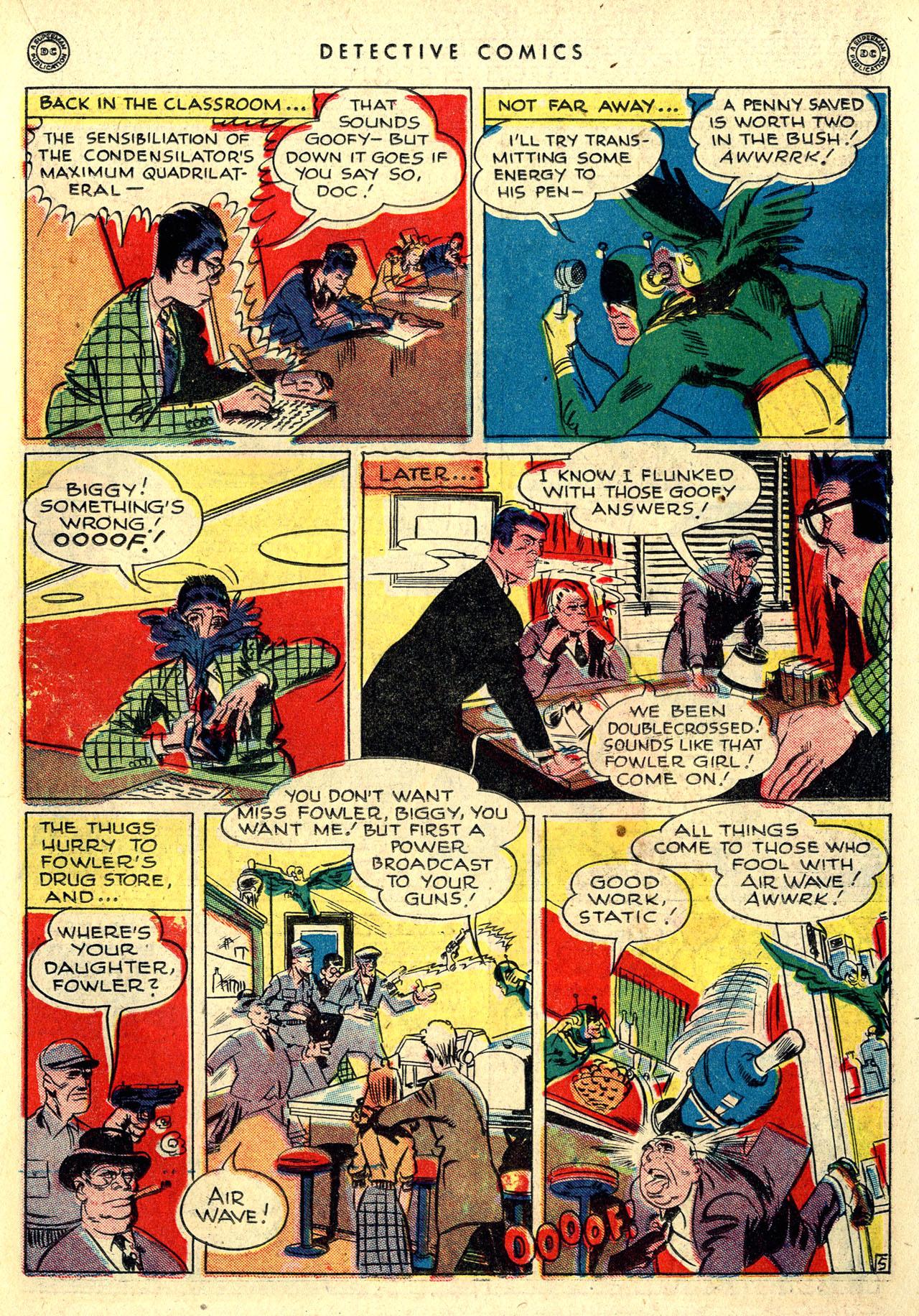 Read online Detective Comics (1937) comic -  Issue #116 - 21