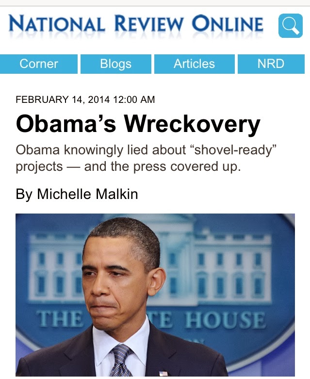 February 2014: Cited @ The National Review