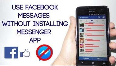 Facebook messages without app