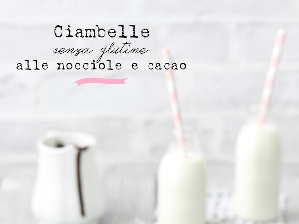Ciambelle senza glutine alle nocciole e cacao