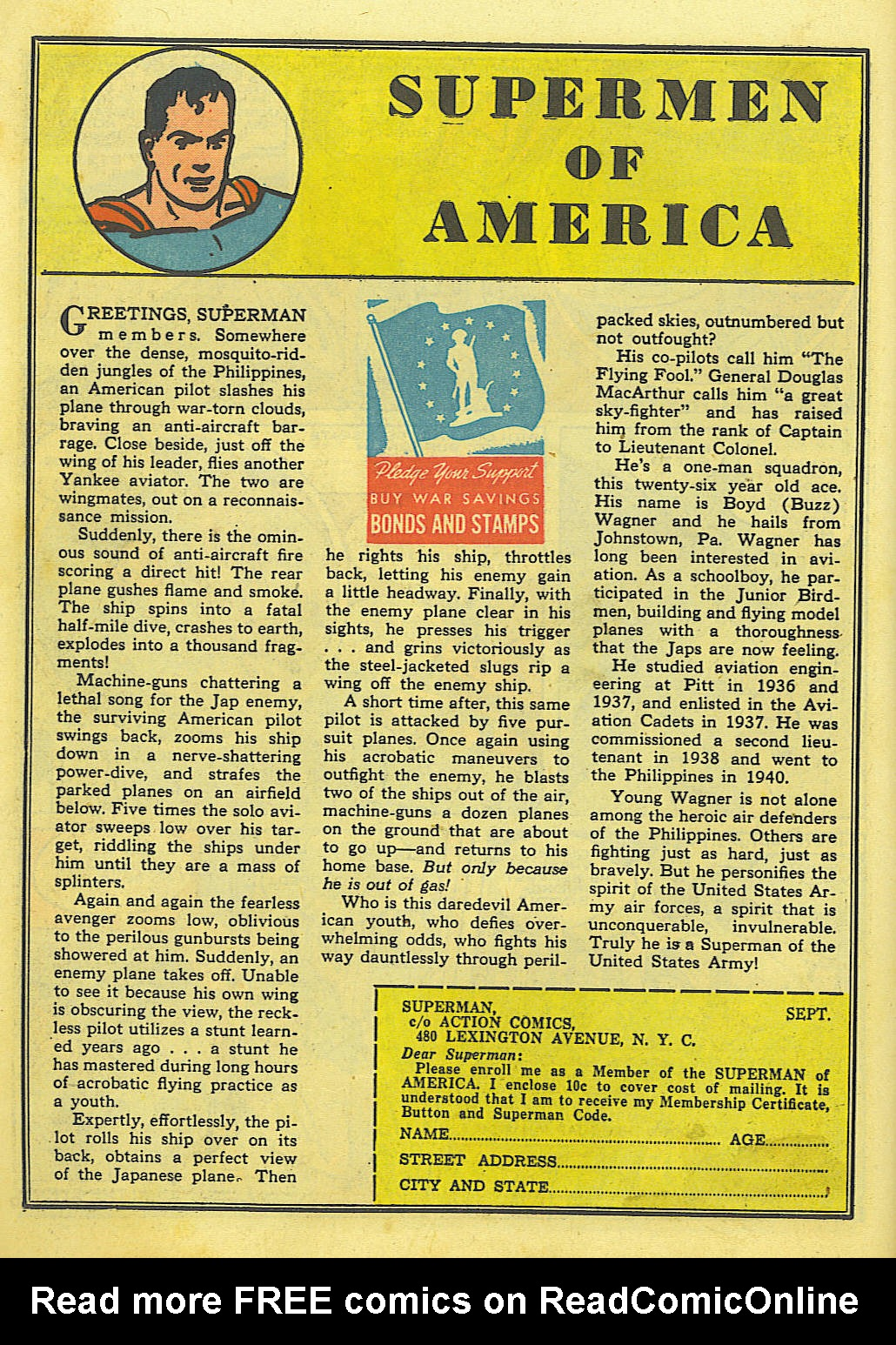 Read online Action Comics (1938) comic -  Issue #52 - 16