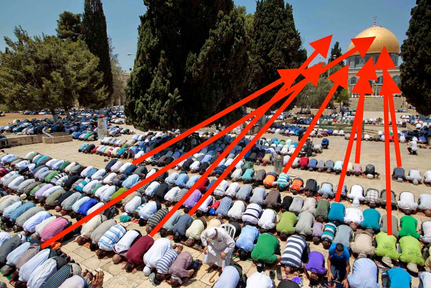 Israel just the facts why the dome of the rock must come down a little history about jerusalem sciox Image collections