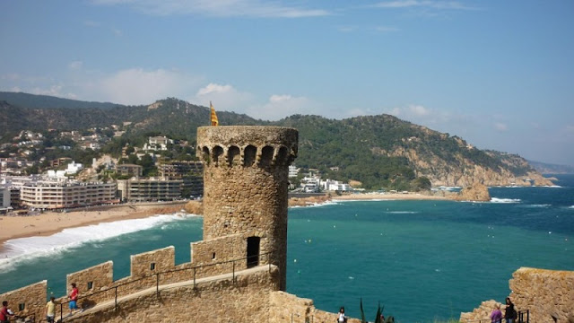 Tossa de Mar na Catalunha