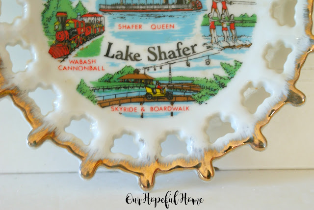 Shafer Queen Wabash Cannonball Shafer Lake plate