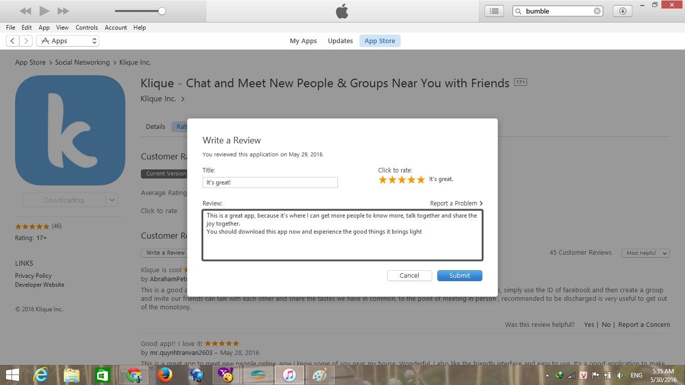 Kiếm tiền bằng tải ứng dụng và viết review