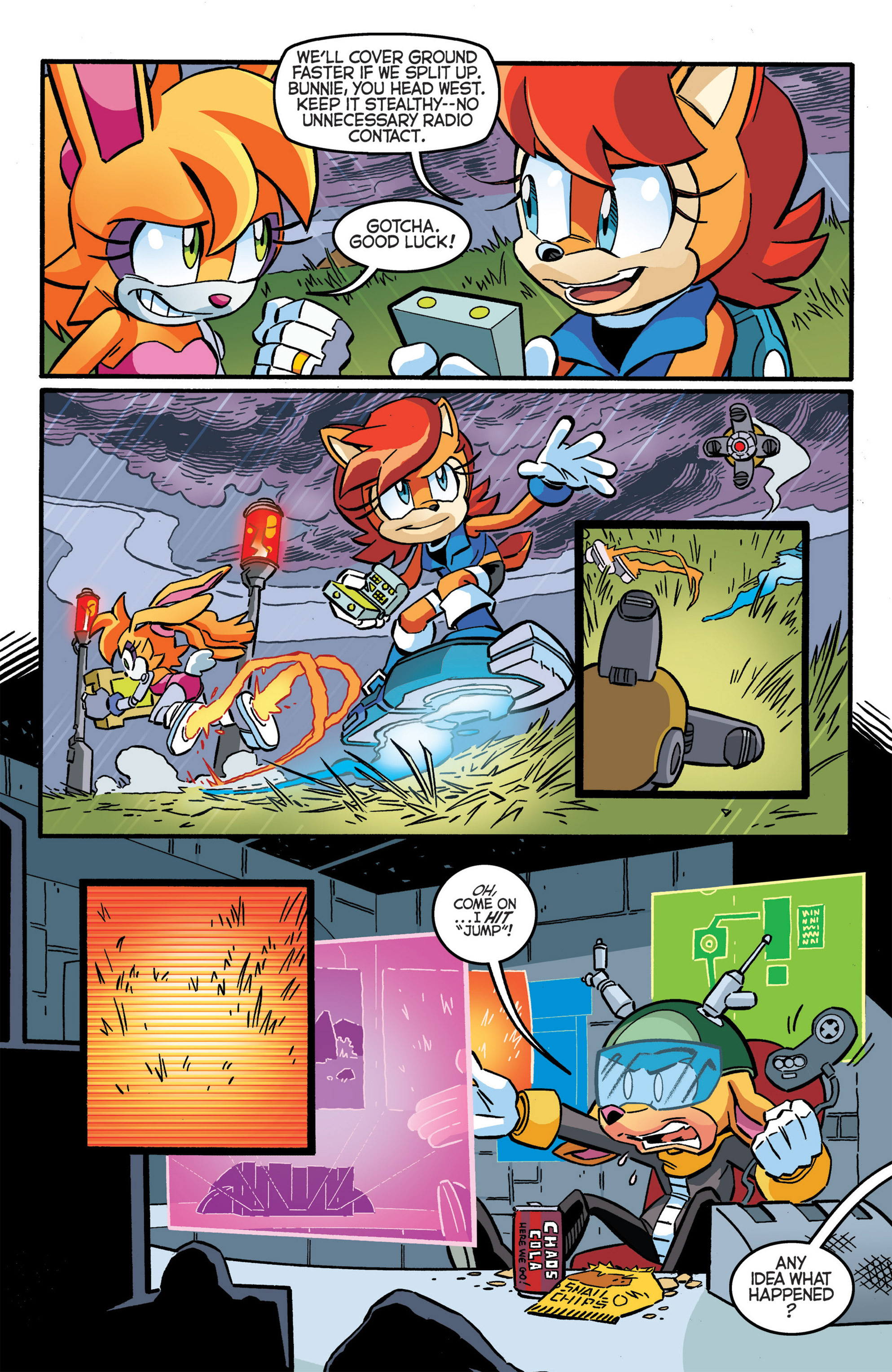 Read online Sonic The Hedgehog comic -  Issue #277 - 15