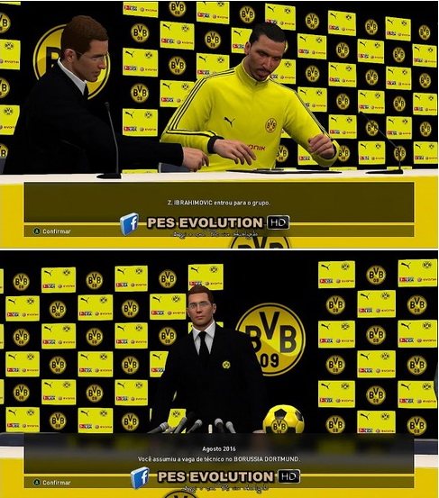 PES 2017 Press Room Borussia Dortmund by PES Evolution HD