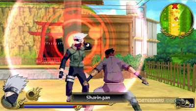 Game Naruto ISO PSP Shippuden Legends