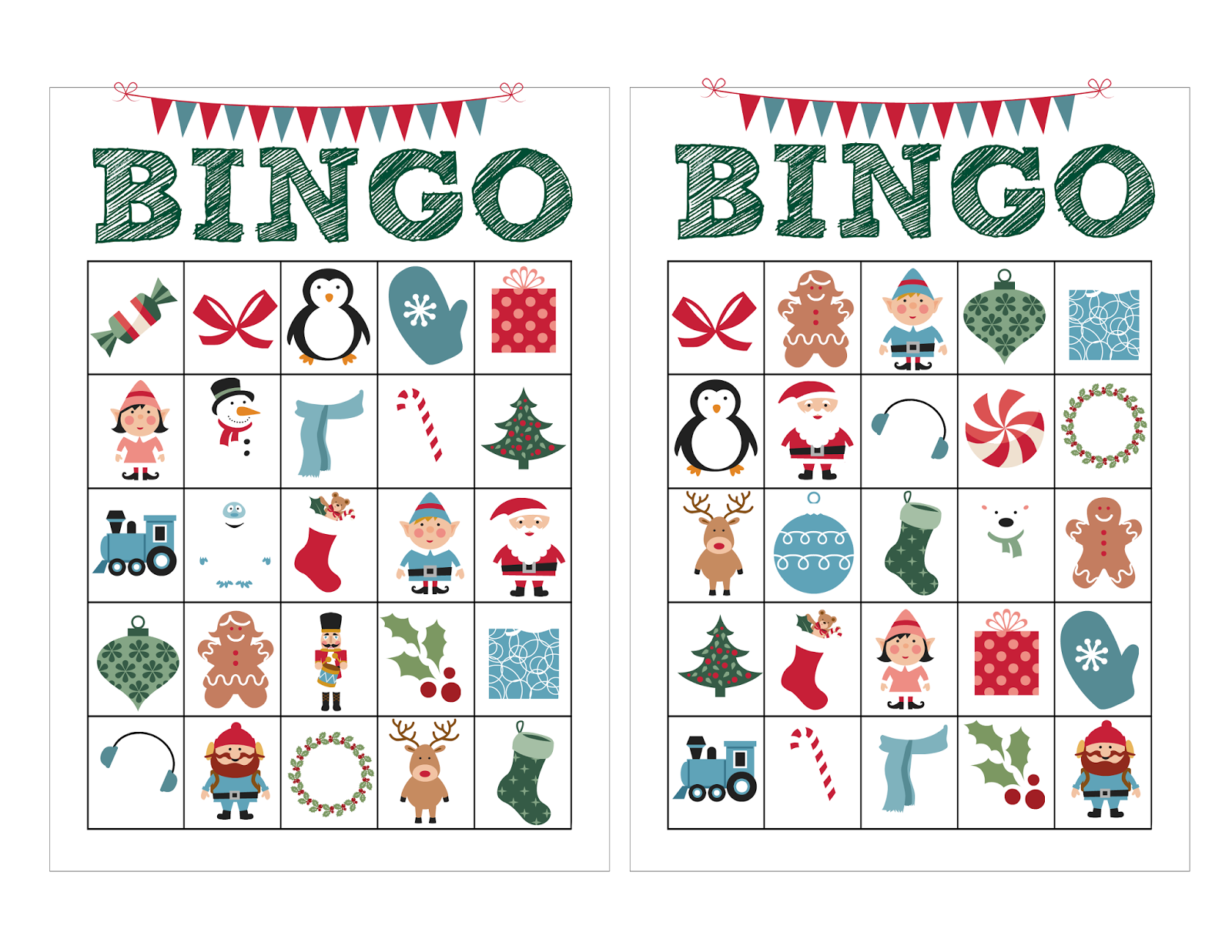 It is a picture of Stupendous Sample Bingo Card
