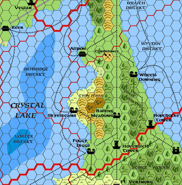 Mystara Alphatia Ar Wyvern Hex Map