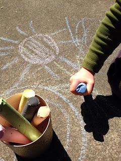 tizas, actividades, infantil, pintar, dibujar, manualidades