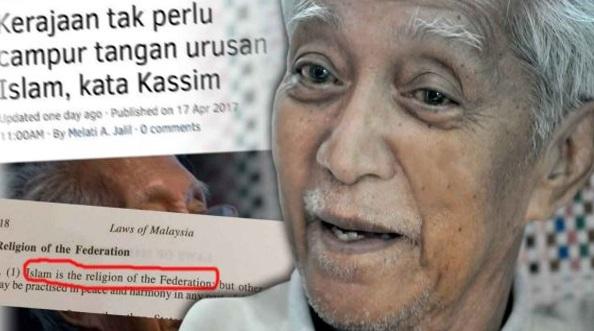 TERKINI: Kassim Ahmad – Hapuskan Islam Sebagai Agama Persekutuan