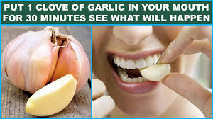 nutrition value of garlic.
