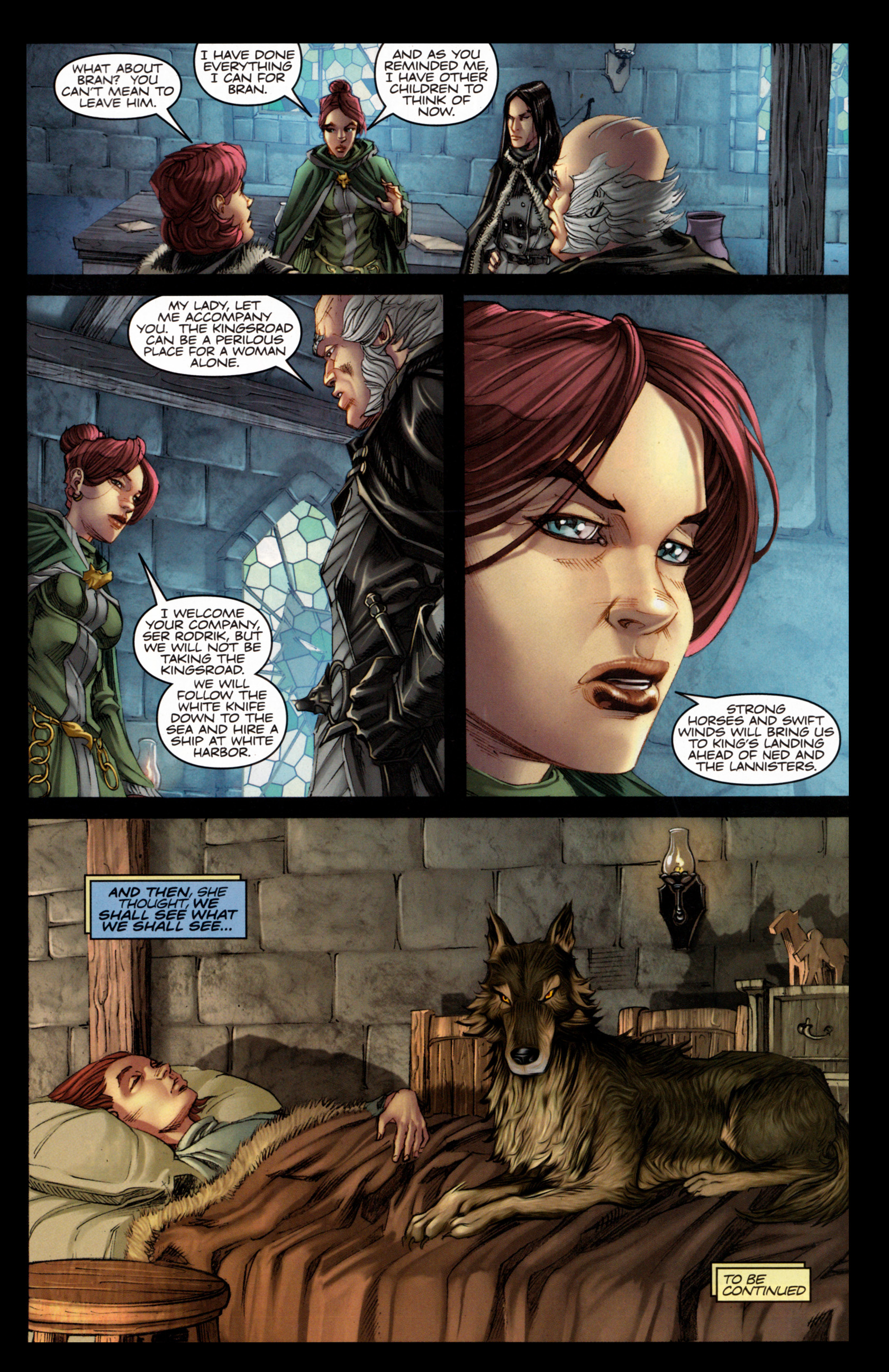 Read online A Game Of Thrones comic -  Issue #4 - 31