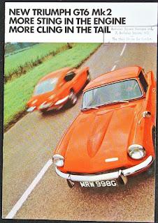 Berkeley Square London dealer address stamp on GT6 brochure