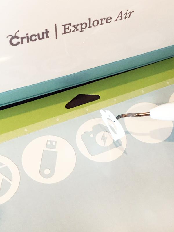Weeding Vinyl Cricut Cut Icon Labels