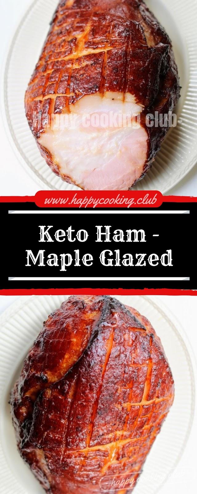 Keto Ham - Maple Glazed