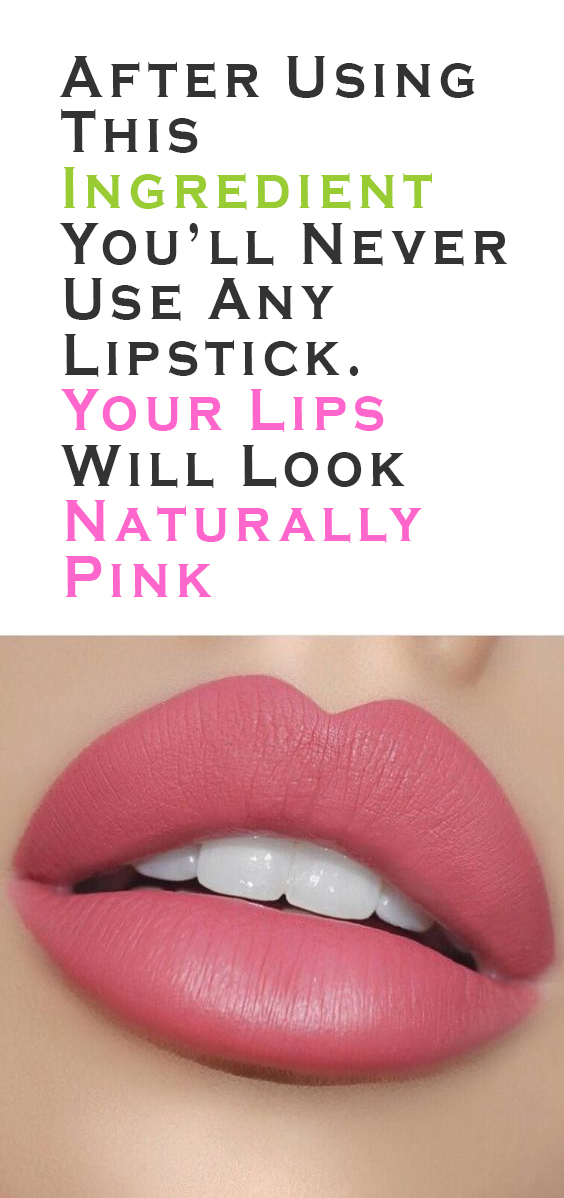 pink your lips