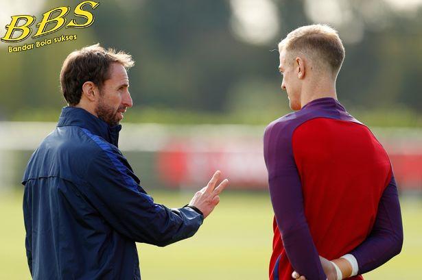 Gareth Southgate and Joe Hart