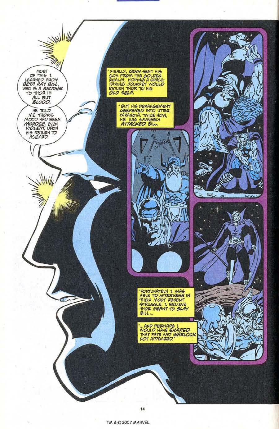 Read online Silver Surfer (1987) comic -  Issue #87 - 16