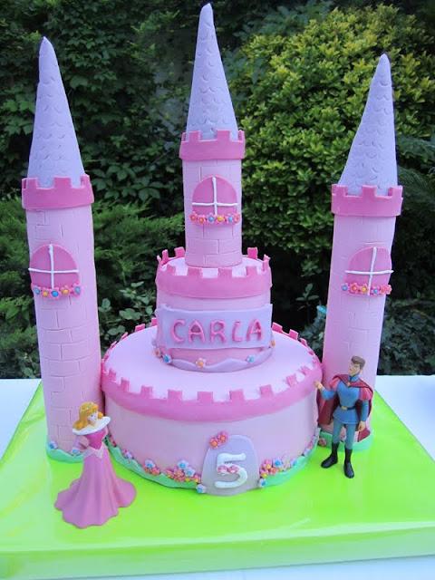 tarta castillo