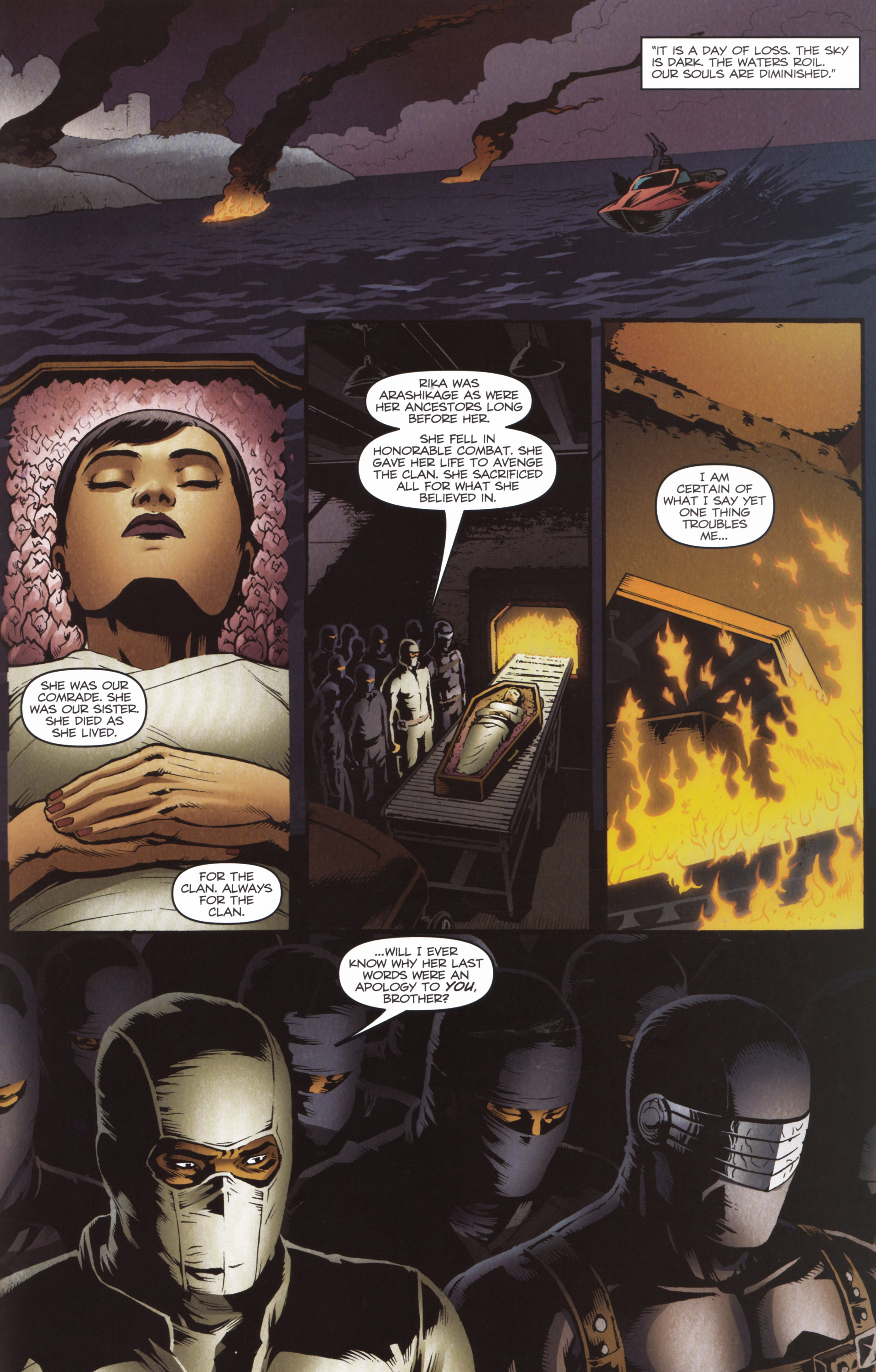 Read online Snake Eyes and Storm Shadow comic -  Issue #16 - 23