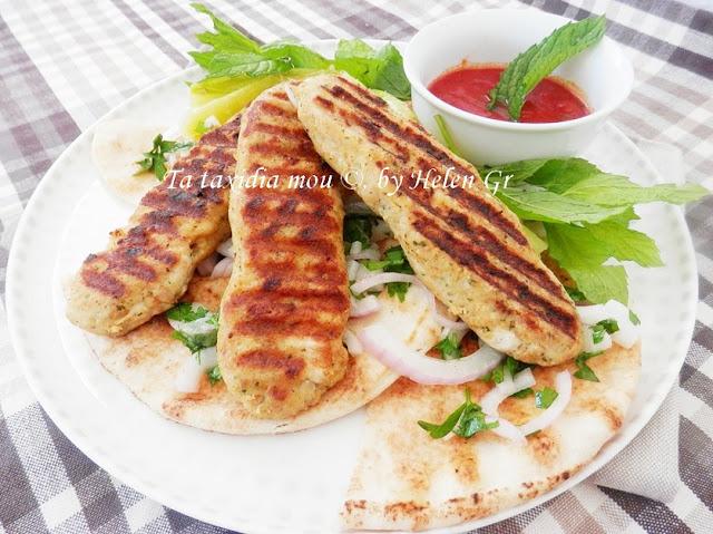 Κοτόπουλο Kabab – Chicken Kabab
