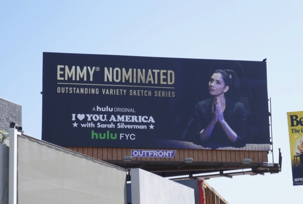 I Love You America Sarah Silverman Emmy nominee billboard