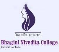 Bhagini Nivedita College Recruitment 2017